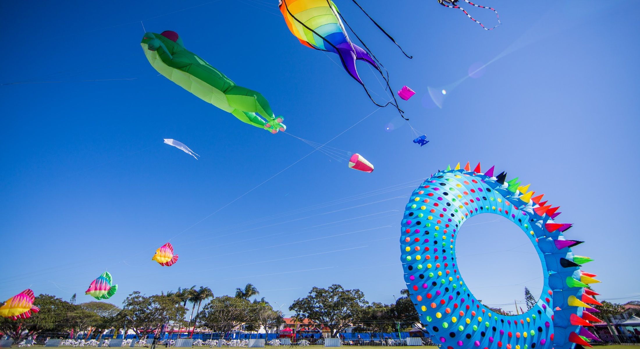Redcliffe KiteFest is an annual event held every June. The event is accessible friendly so lock the dates into your diary!